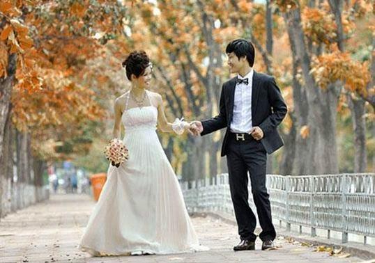 Địa chỉ chụp ảnh cưới đẹp lãng mạn ở hà nội