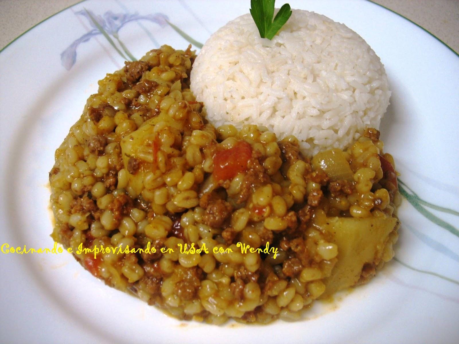 Cocinando con wendy trigo con carne for Cocinar trigo