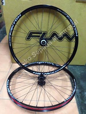 Wheelset DH Funn Fantom lebar 3,5cm