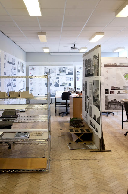 Exhibition at the Scott Sutherland School of Architecture, Aberdeen, 2011