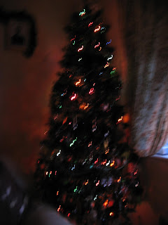 Sparkly Christmas Tree.