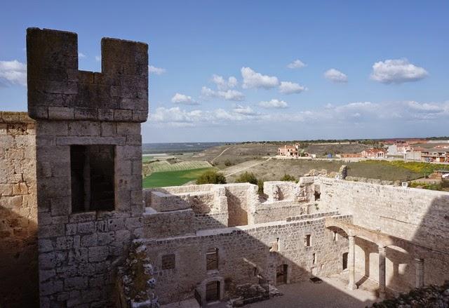 Castillo de Portillo en Valladolid