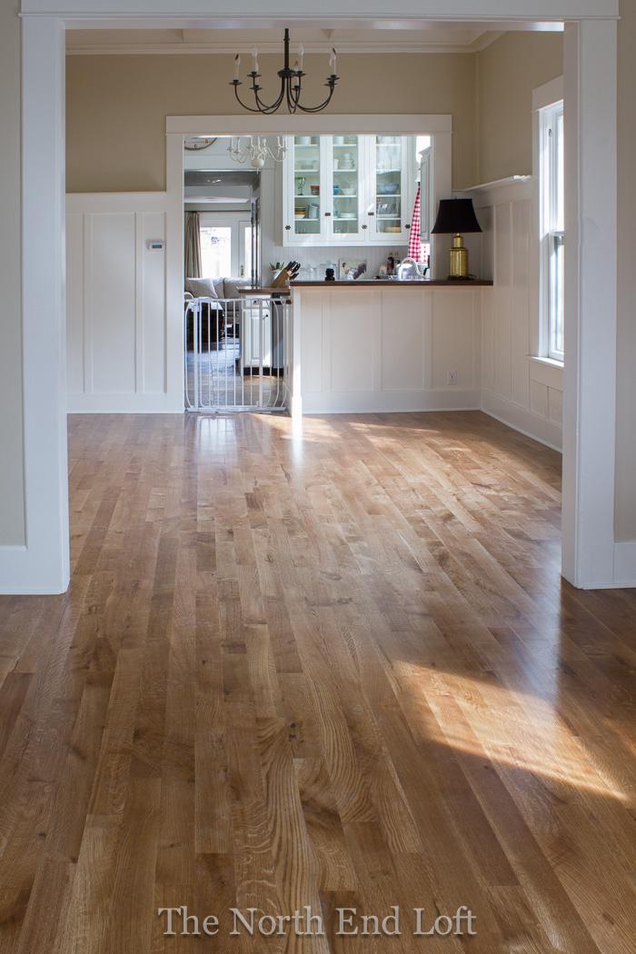 The North End Loft New Hardwood Floors Reveal