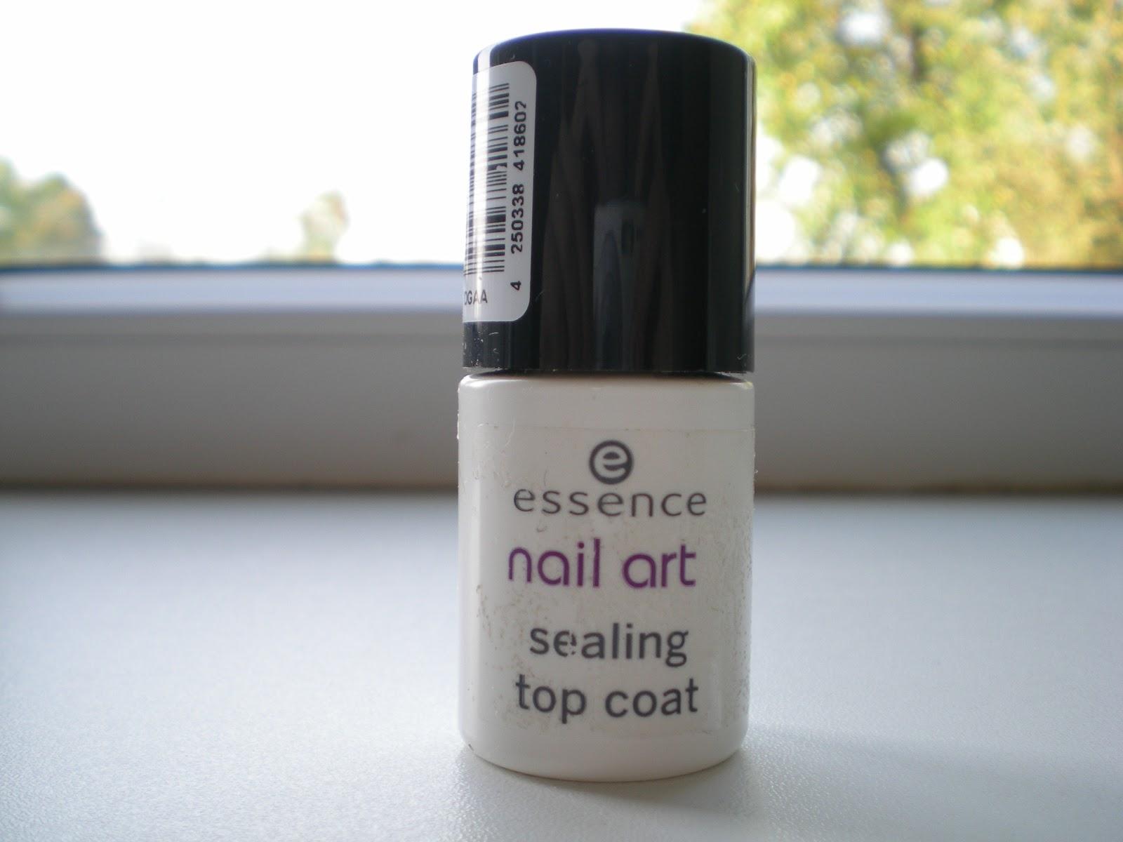 ritaloves: Essence Nail Art Sealing Top Coat