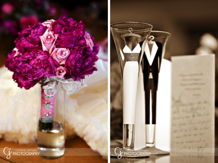 Pink Wedding Napkins
