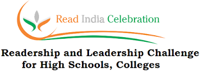 Read India Celebration Participation,RIC,Readership and Leadership Challenge