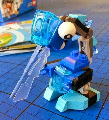LEGO Mixels Lunk Frosticon from Cartoon Network review 41510
