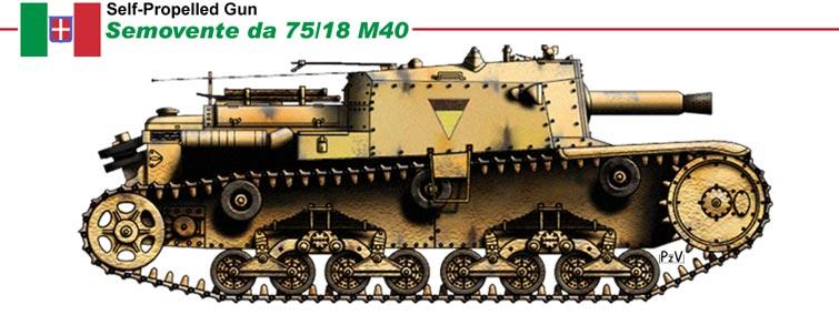 на шасси танка M13/40,