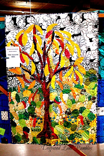 tree quilt collage Freddy Moran