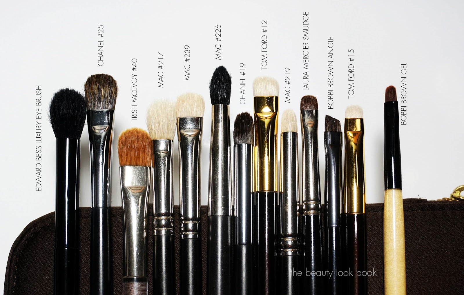 The Beauty Look Book Eye Brushes