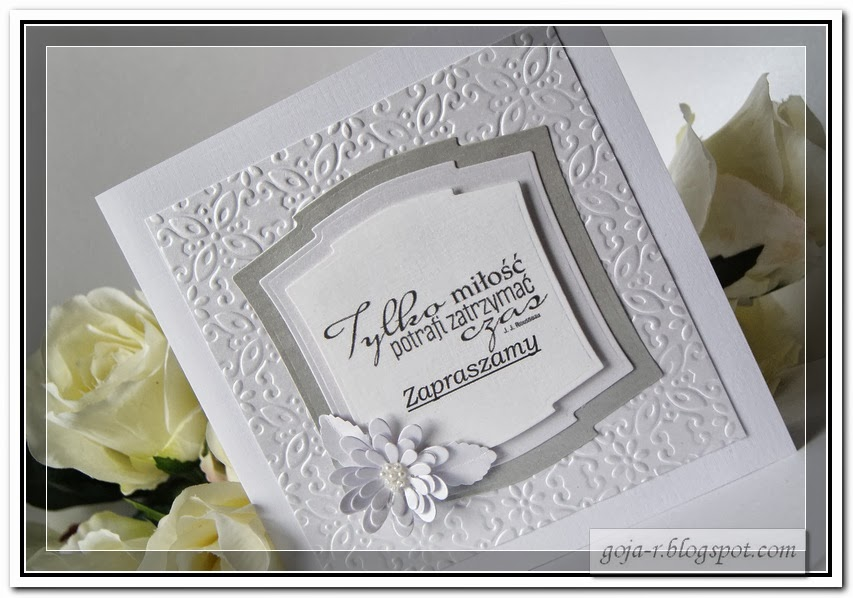 Goja Zaproszenie Na 25 Rocznice ślubu