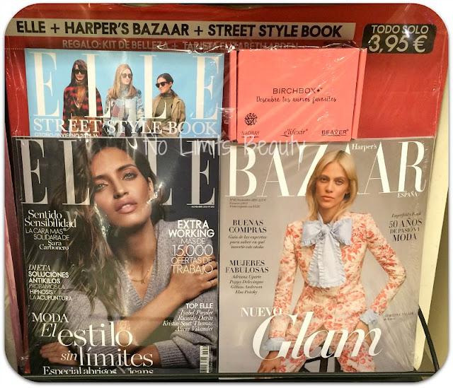 Regalos revistas noviembre 2015: Elle