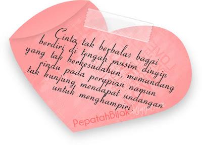 Kata Kutipan Cinta Tidak Berbalas