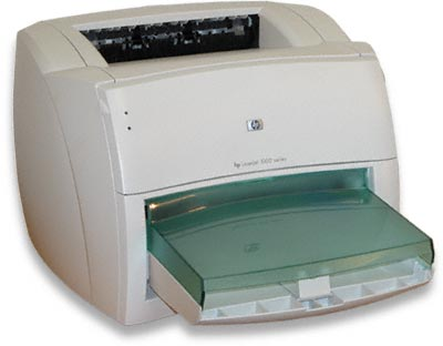 HP LaserJet 1000 series printer