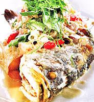ปลากะพงหลงน้ำ