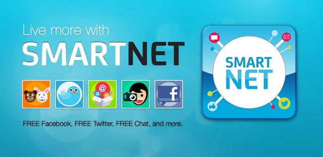 Stay Connected to Facebook and Twitter with SmartNet for Free! (Smart and Talk N Text Subscribers)