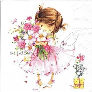 http://www.swiatdecoupage.pl/serwetka-dziewczynka-z-bukietem-126SF-p326