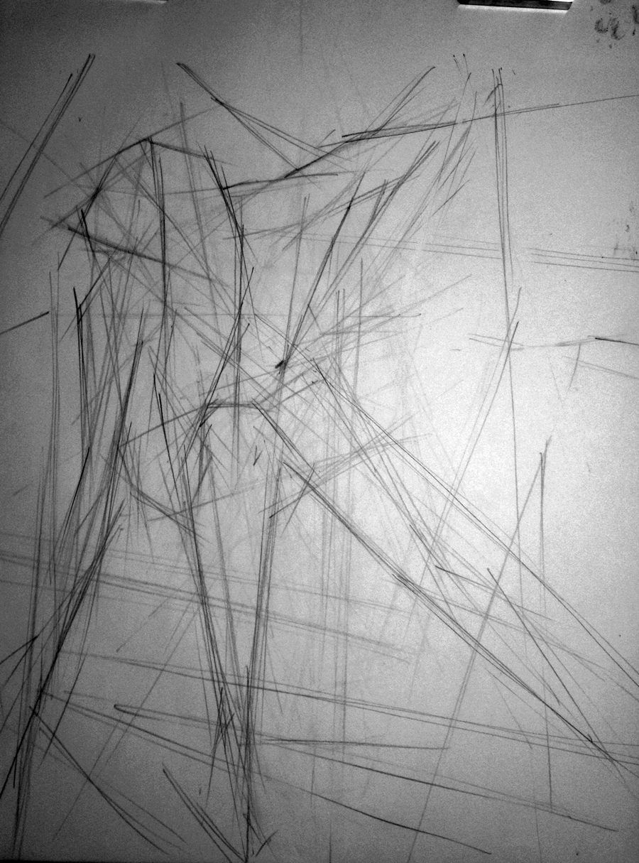 Drawing Using Only Lines : Peagartz abstract figures