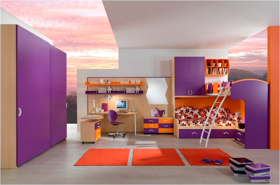 Stylish Bunk beds For Young Girls | Design Inspiration of Interior ...