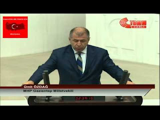 Ümit Özdağ Meclis Yemini - 23.06.2015