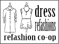 Dress refashions on Refashion Co-op