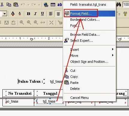 Cara Membuat Laporan Bulanan Menggunakan Crystal Report 8.5 Dan Visual Basic 6.0