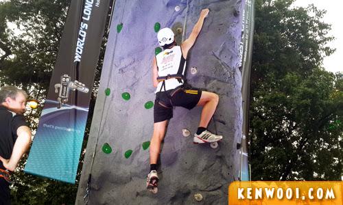 camp 5 rock climbing