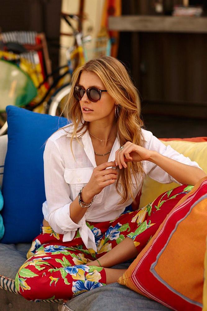 Polo Ralph Lauren Summer 2015 Campaign featuring Keke Lindgard