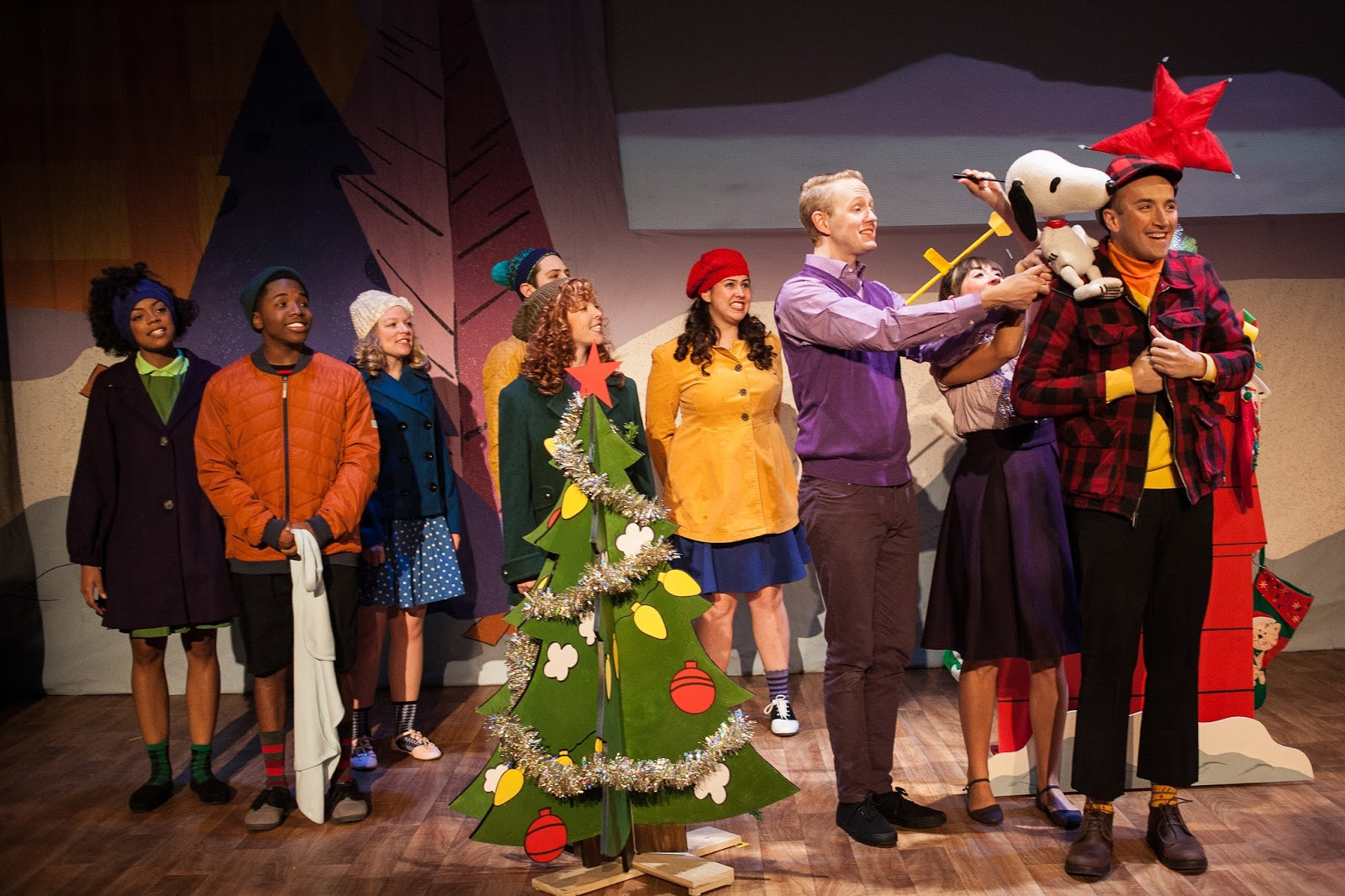 once upon a time i went to a show and it was called a charlie brown christmas it was written by charles m schulz based on the tv special by bill melendez - Charlie Brown Christmas On Tv