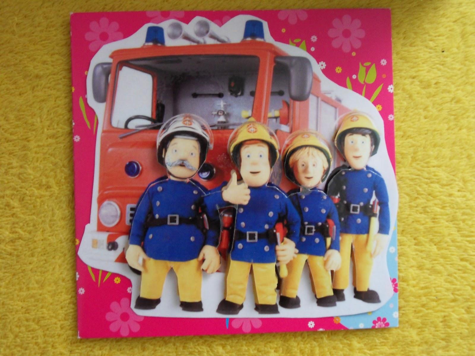 Mirages - Bastelstube: Feuerwehr - Sparbüchse + Karte