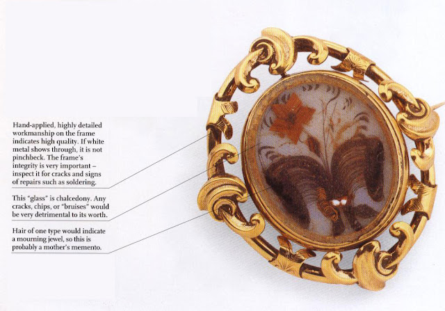 Pinchbeck Hair Brooch, c.1860
