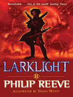 larklight by philip reeve book cover