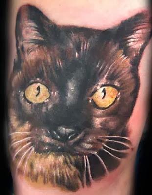 Dicas de Tatuagens Femininas de Gato