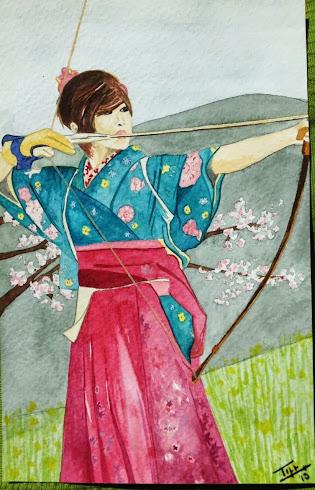 Concentración, Disciplina, Respiración, Quietud del Espiritu. Esto es el Kyudo