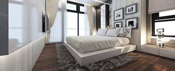 Phòng ngủ căn hộ Sunny Plaza