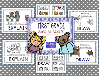 https://www.teacherspayteachers.com/Product/CCSS-Critical-Vocabulary-Anchor-Charts-and-Word-Wall-Words-First-1st-Grade-1869397