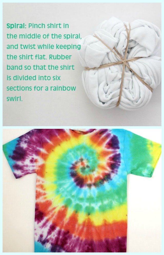 How to tie dye shirts with kids happiness is homemade for How do you dye a shirt