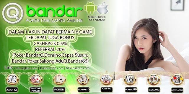 Image of Link Terbaru Judi Domino Online QBandar