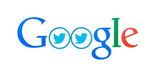 logo google twitter