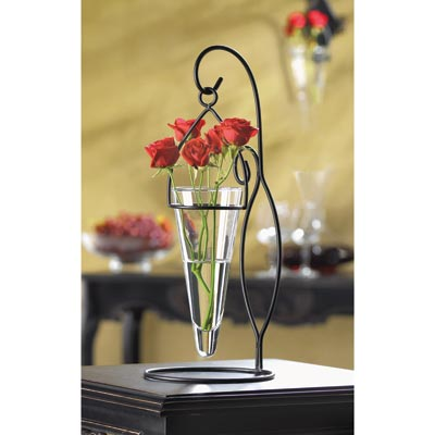 Hot Cool Gifts Tabletop Hanging Vase