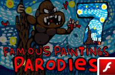 Parodias de Pinturas Famosas 7