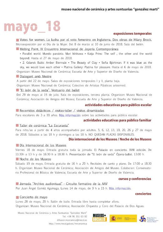 ACV 04, MUSEO GLEZ MARTÍ (01 al 31 de Mayo de 2018)