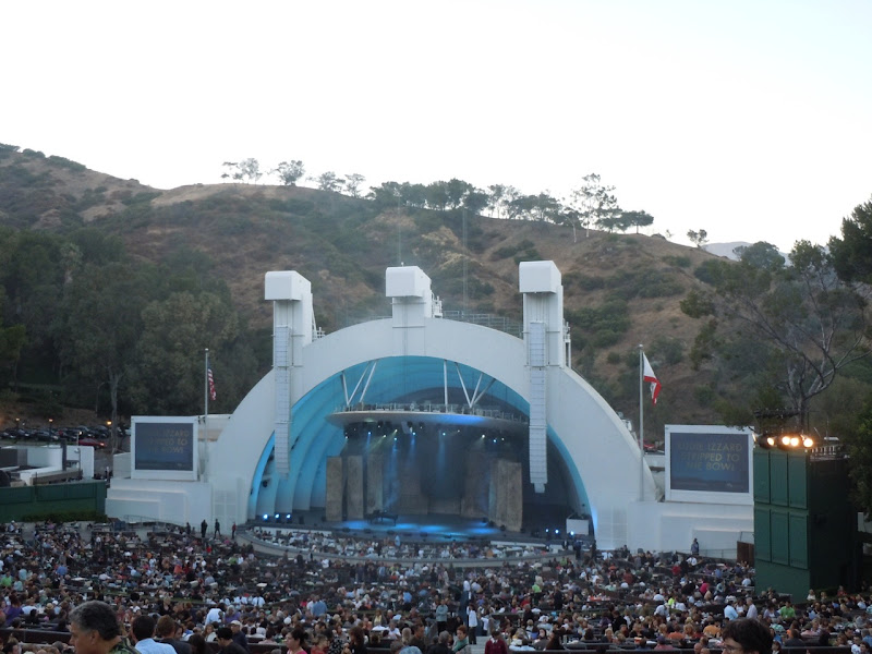 Eddie Izzard Hollywood Bowl show