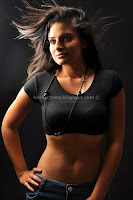 Anuhya, reddy, hot, navel, and, thigh, show