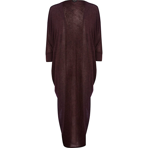 http://www.riverisland.com/women/knitwear/cardigans/Purple-long-length-drape-cardigan-662934