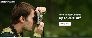 Paytm : Buy point shoot and Digital cameras & get upto 20% cashback : Buytoearn