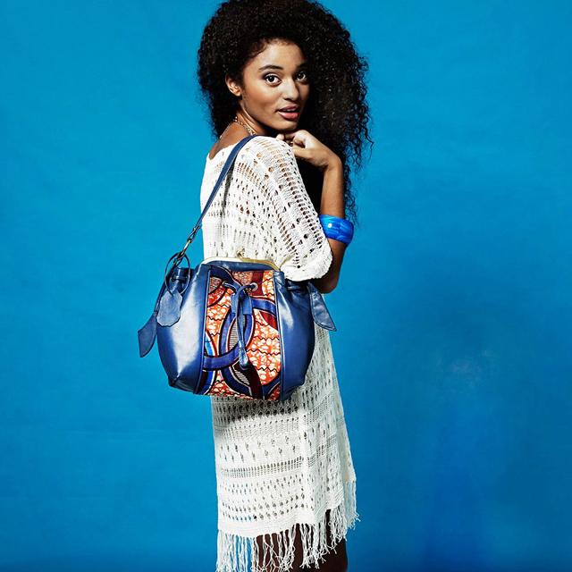 African print handbag by Australian designer Coconsa