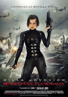 Ver online: Resident Evil 5: La Venganza (Resident Evil: Retribution / Resident Evil 5) 2012