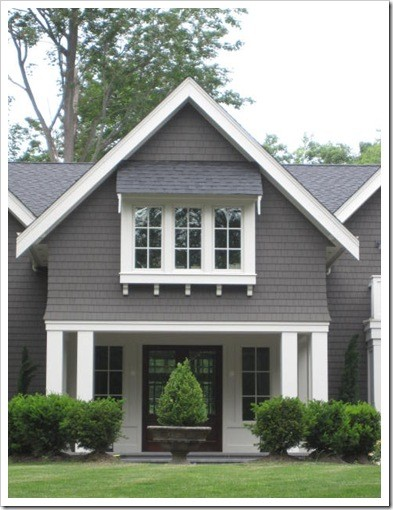 The perfect grey and prime shed real estate the house that a m built - Dulux exterior paint colour schemes property ...