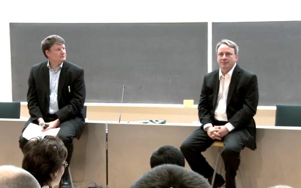 Aalto talk charla Linus Torvals